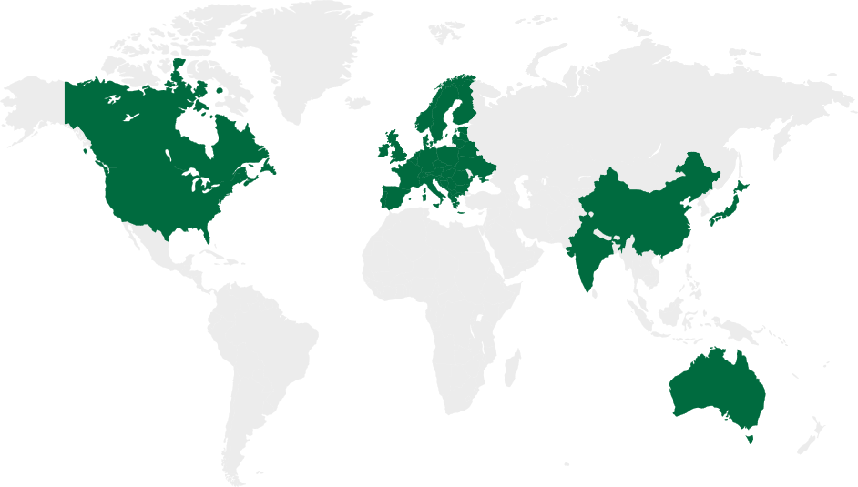 Global Reach Map