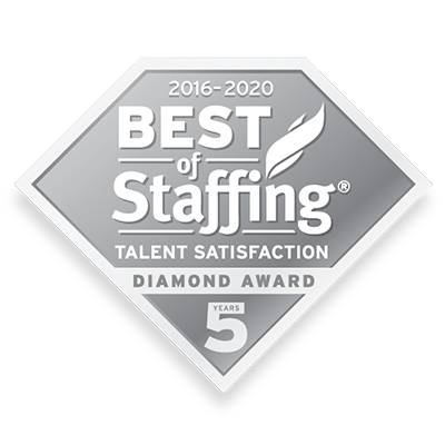 Best of Staffing Talent Diamond Badge